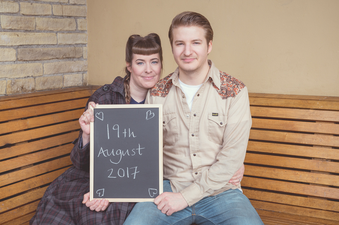 Saltaire Engagement Shoot with Sarah & Lewis