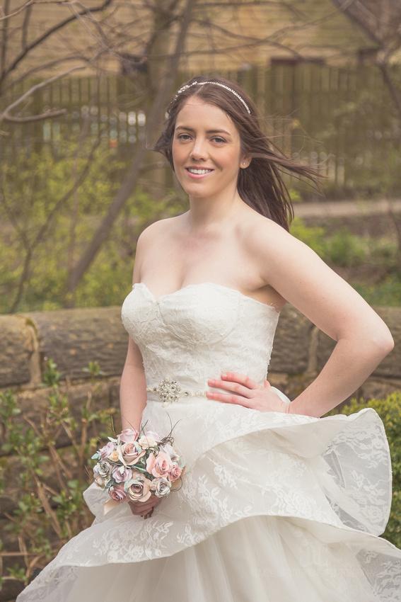 Bridal shoot with Posh Frocks Leeds