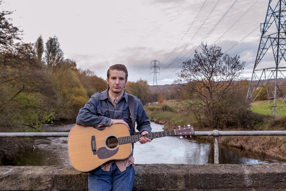 Album Shoot for Lewis Burner in Rodley, Leeds