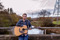 Album Shoot for Lewis Burner in Rodley, Leeds